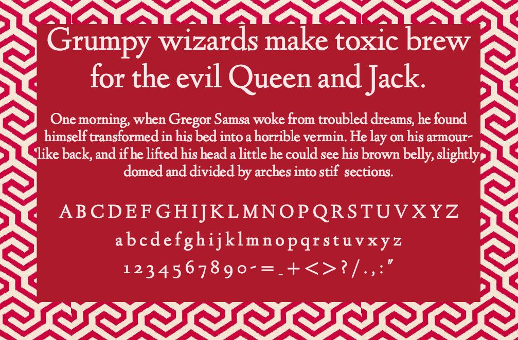 Download Linden Hill font (typeface)