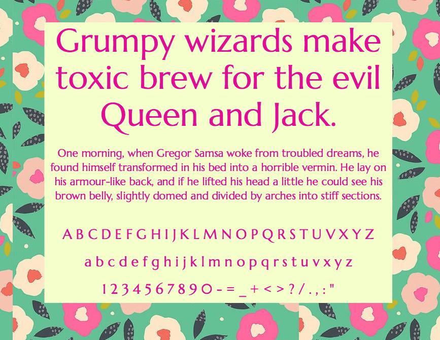 Download Marcellus font (typeface)