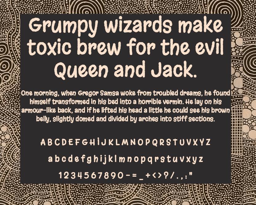 Download Margarine font (typeface)