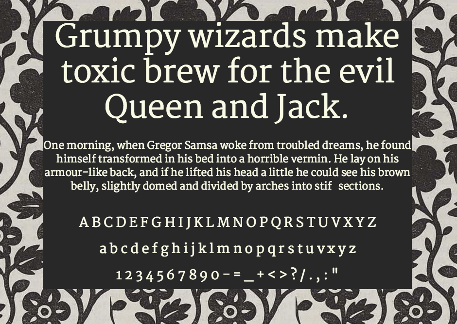 Download Martel font (typeface)