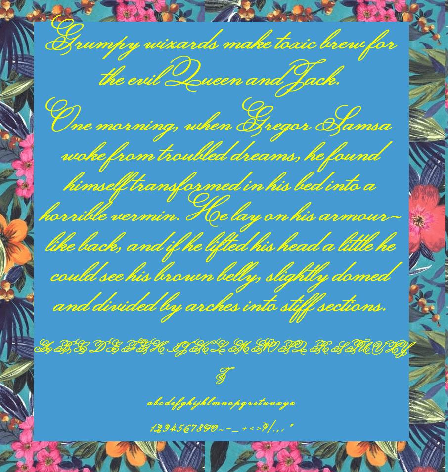 Download Monsieur La Doulaise font (typeface)