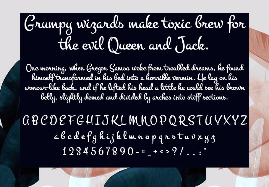 Download Montez font (typeface)