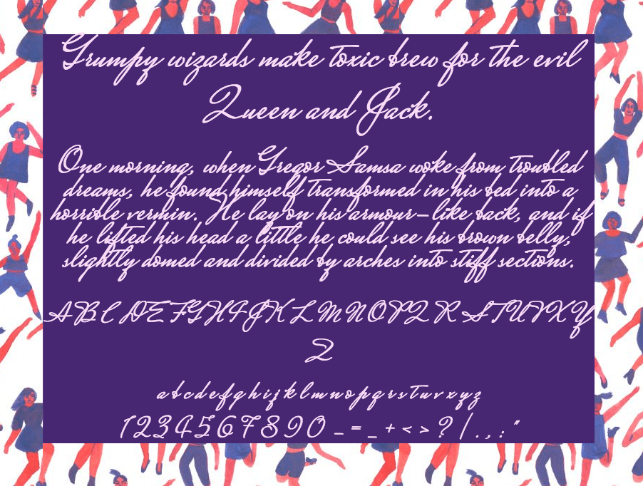 Download Mrs. Saint Delafield font (typeface)