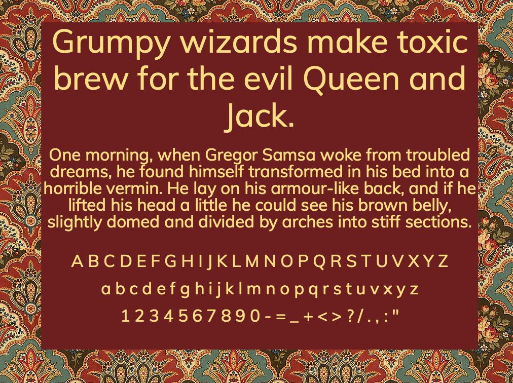 Download Muli font (typeface)