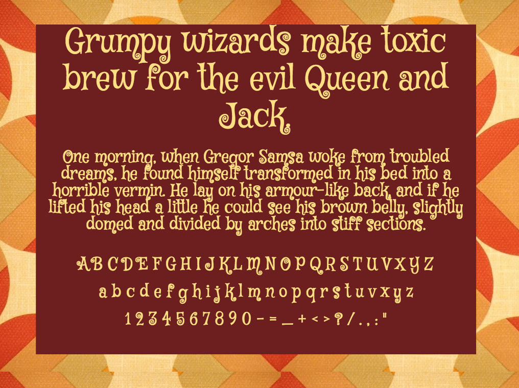 Download Mystery Quest font (typeface)