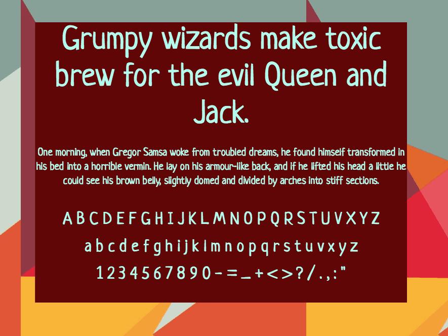Download Neucha font (typeface)