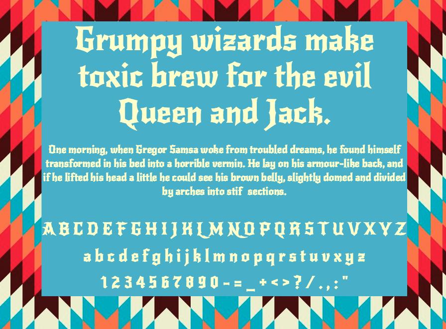 Download New Rocker font (typeface)