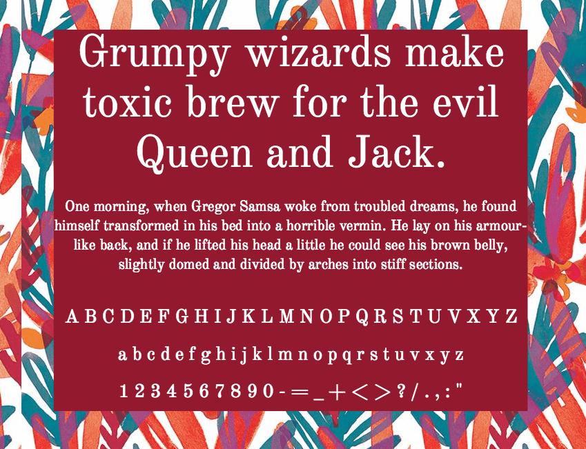 Download Old Standard TT font (typeface)