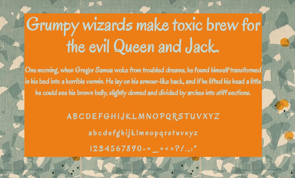 Download Oregano font (typeface)