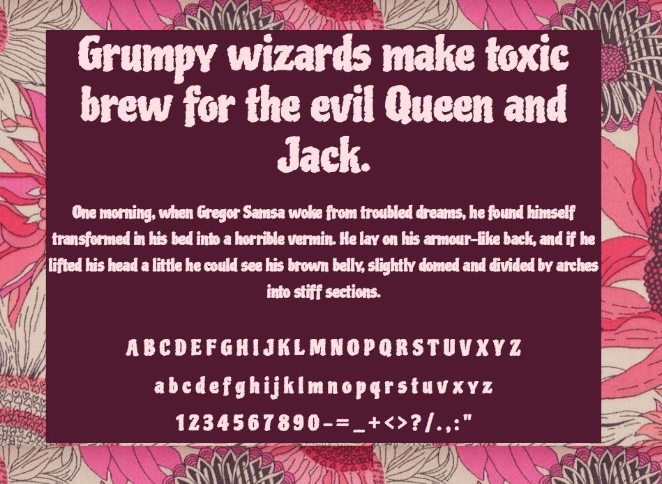 Download Piedra font (typeface)
