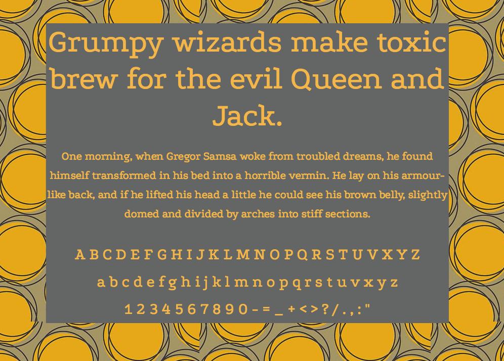 Download Podkova font (typeface)