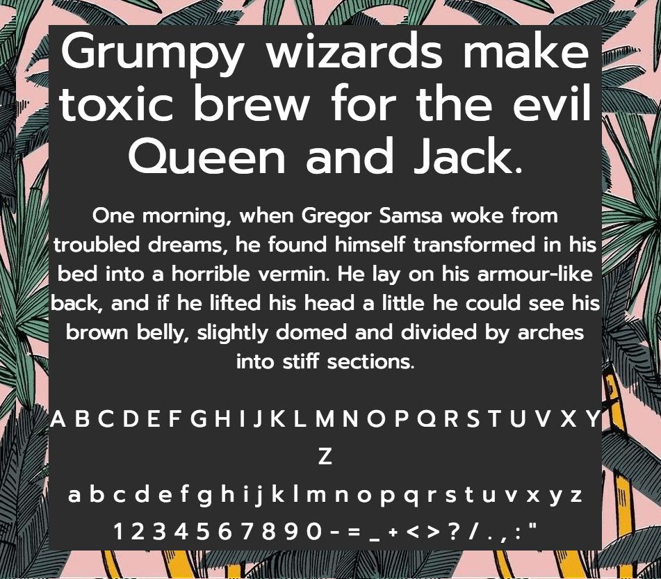 Download Prompt font (typeface)