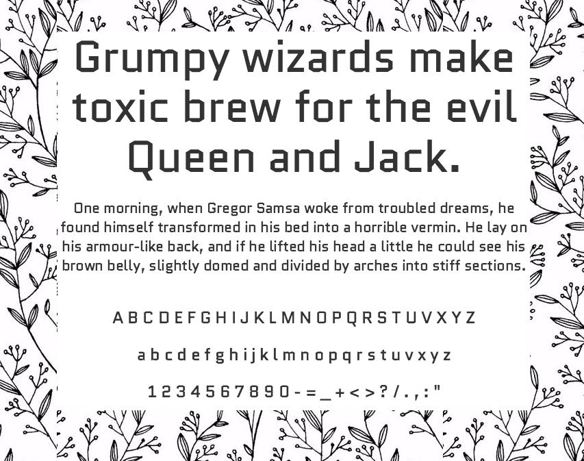 Download Quantico font (typeface)