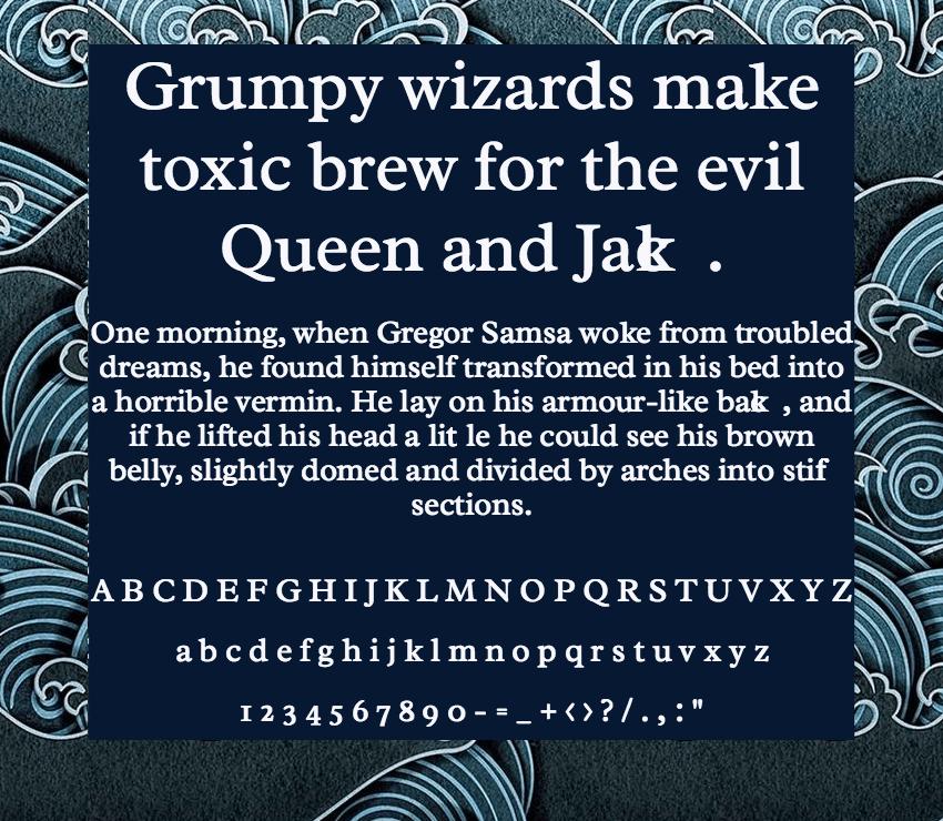 Download Radley font (typeface)