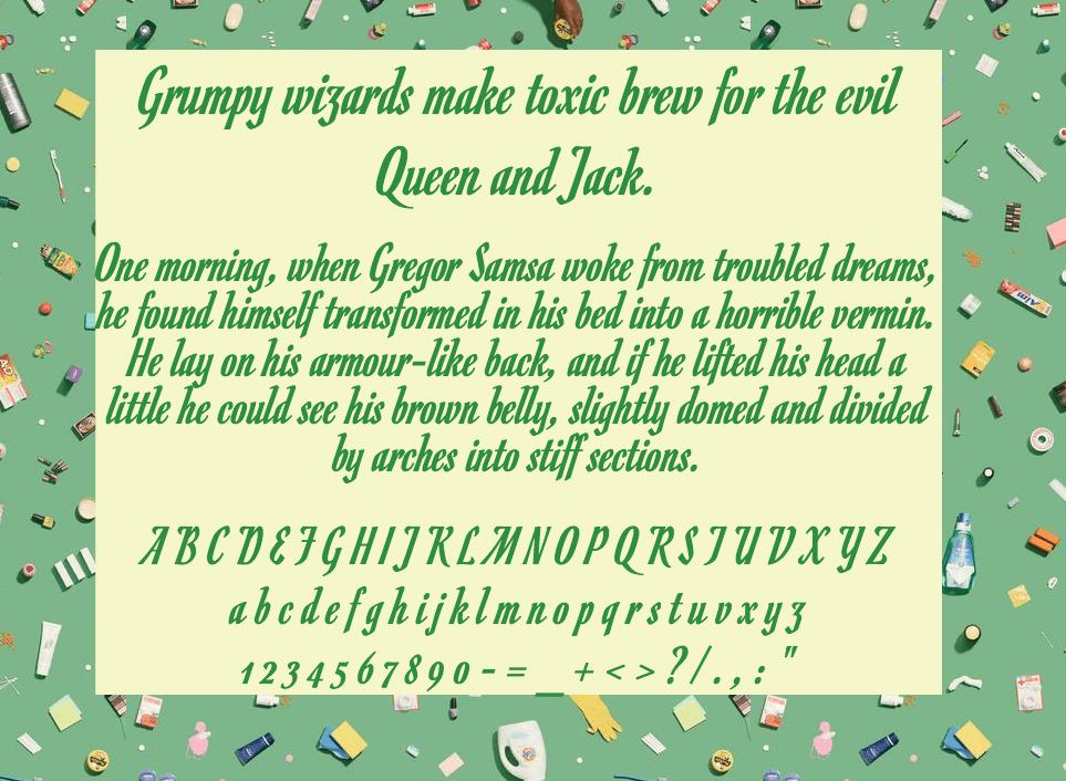 Download Romanesco font (typeface)