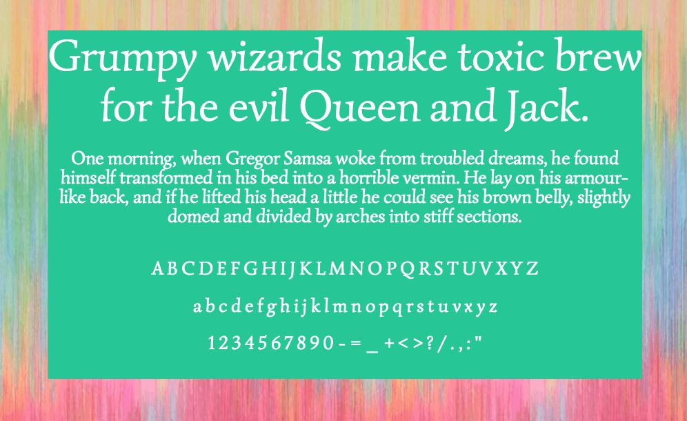 Download Simonetta font (typeface)