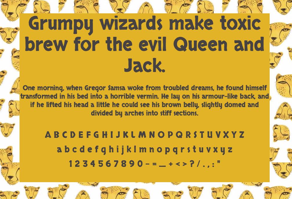 Download Skranji font (typeface)