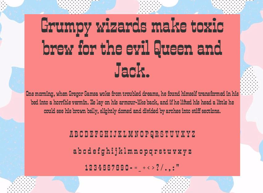 Download Smokum font (typeface)