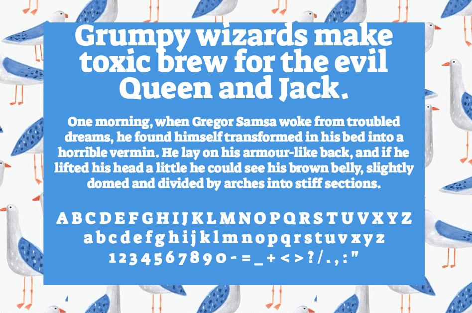 Download Suez One font (typeface)