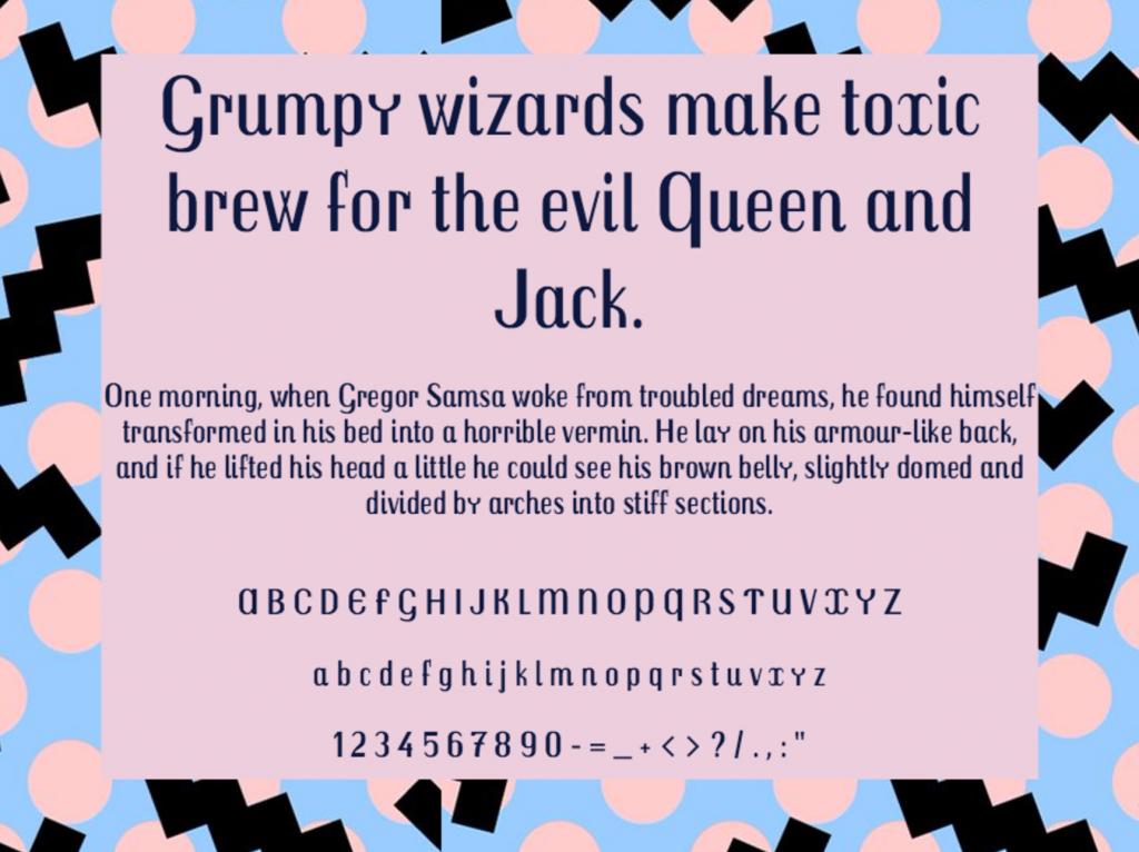 Download Trochut font (typeface)