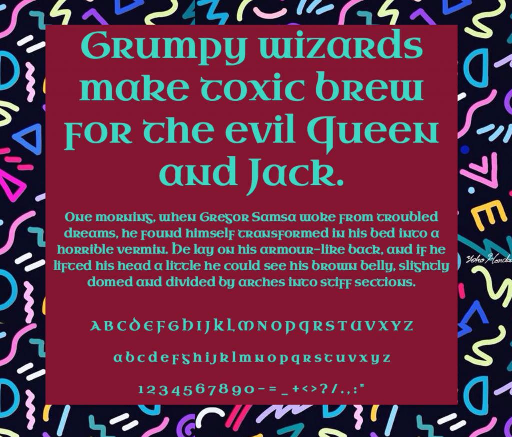 Download Uncial Antiqua font (typeface)
