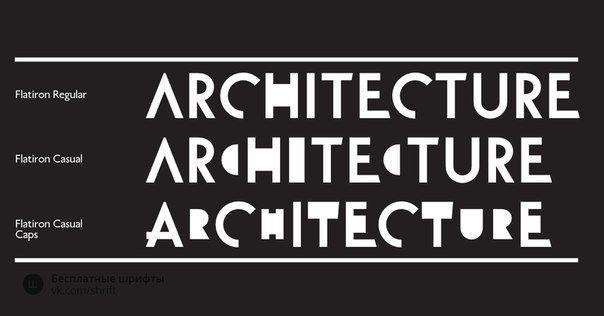 Download Flatiron font (typeface)