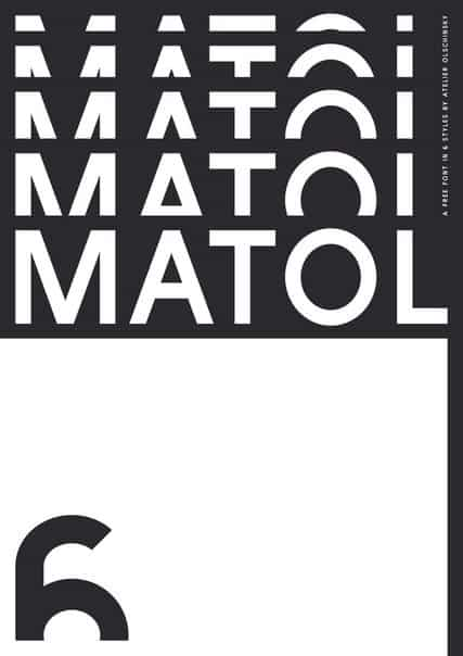 Download Matol font (typeface)
