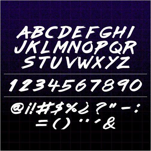 Download Lazer84 font (typeface)