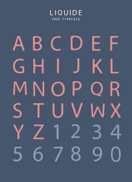 Download Liquide font (typeface)