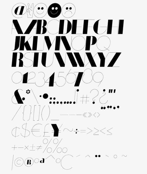 Download Coltrane Display font (typeface)