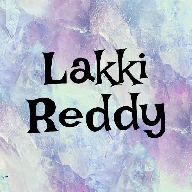 Download Lakki Reddy font (typeface)