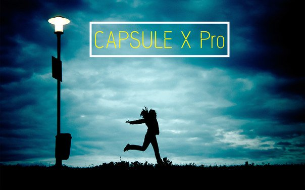 Download Capsule X Pro Medium font (typeface)