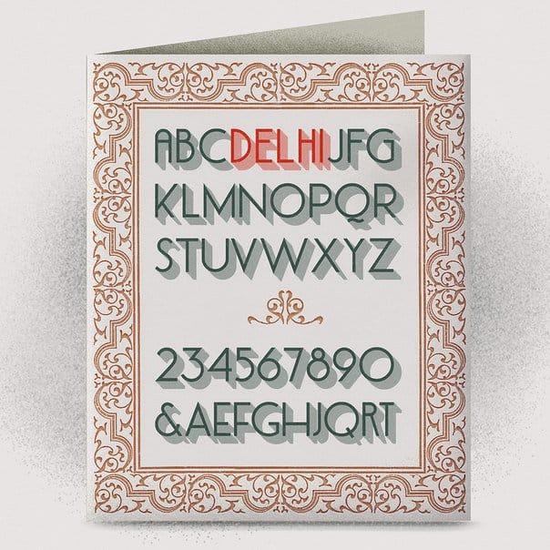 Download Delhi font (typeface)