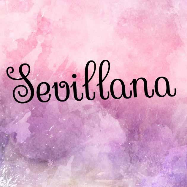Download Sevillana font (typeface)