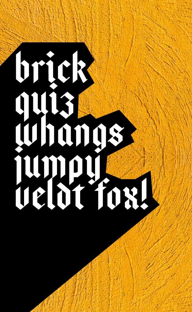 Download bajern font (typeface)