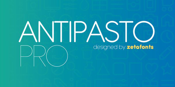 Download Antipasto font (typeface)