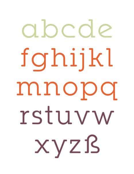 Download Ponsi Rounded Slab font (typeface)