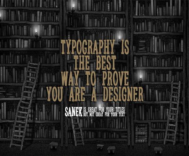 Download Sanek font (typeface)