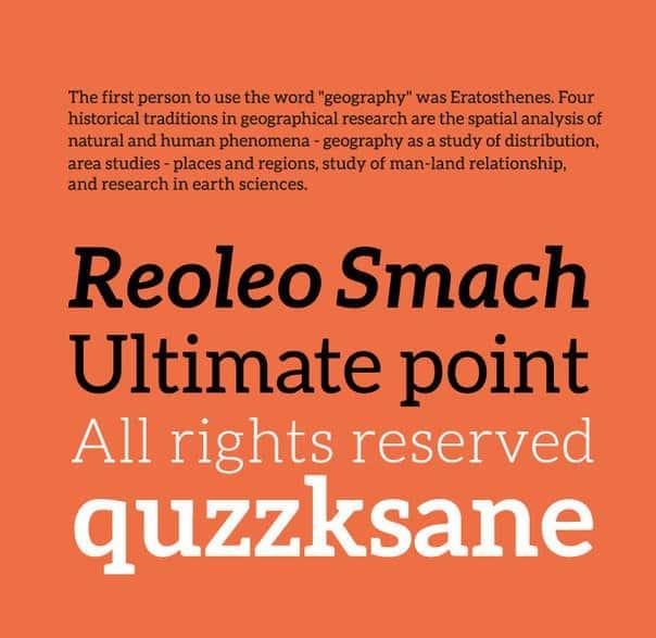 Download Aleo v1.2.2 font (typeface)