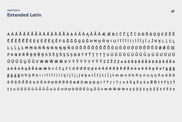Download Martian B font (typeface)