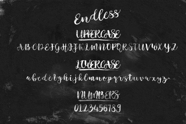Download Endless Script font (typeface)