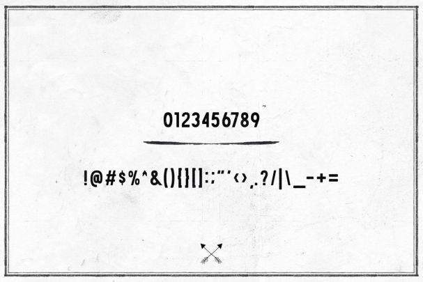 Download Arson Typeface font (typeface)