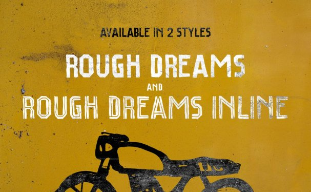 Download Rough Dreams font (typeface)