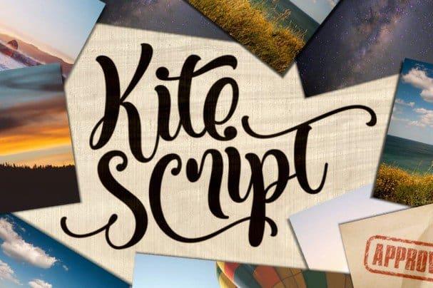 Download Kite Script font (typeface)