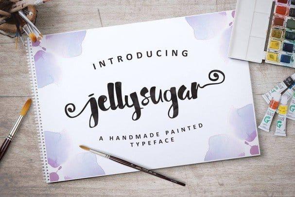 Download Jellysugar Typeface font (typeface)