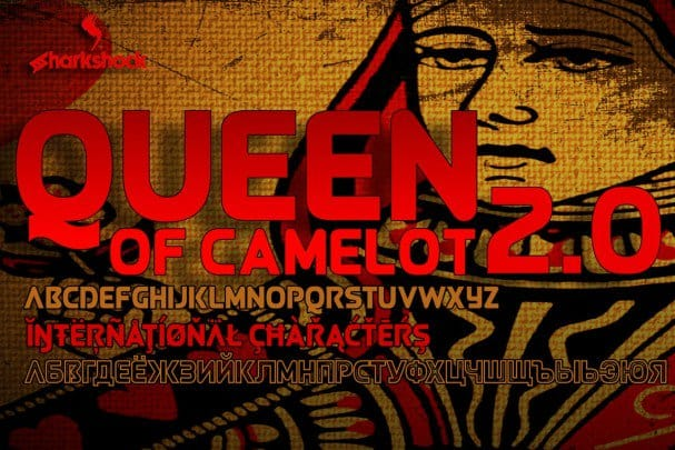 Download Queen of Camelot 2.0 font (typeface)