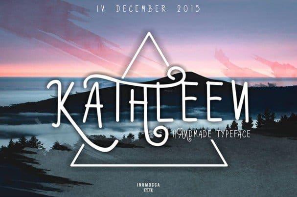 Download Kathleen Typeface font (typeface)
