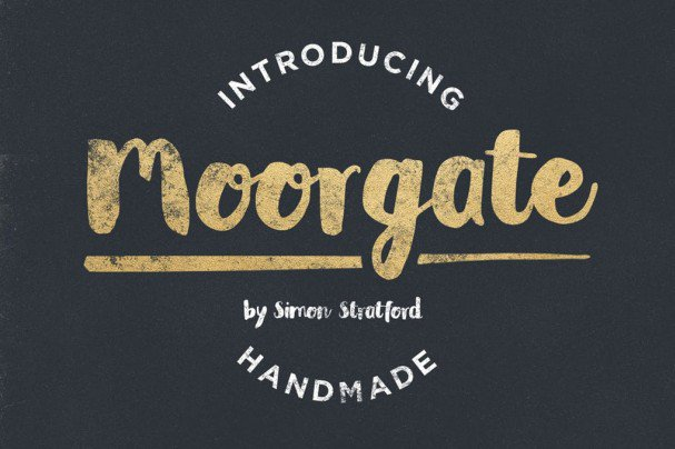 Download Moorgate font (typeface)