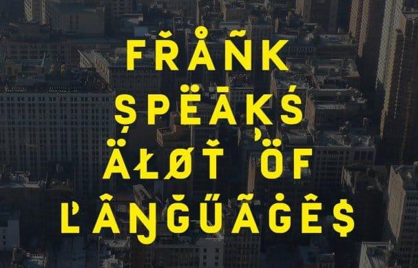 Download Frank font (typeface)