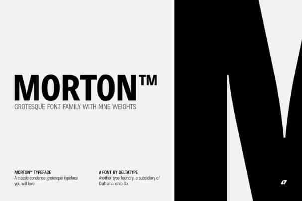 Download Morton font (typeface)